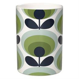 Orla Kiely Utensil Pot: 70's Oval Flower