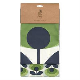 Orla Kiely 70's Oval Flower Tea Towels: Set Of 2