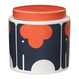 Orla Kiely Ceramic Storage Jar: Elephant