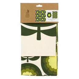Orla Kiely Canteloupe Melon Set Of 2 Tea Towels: Olive