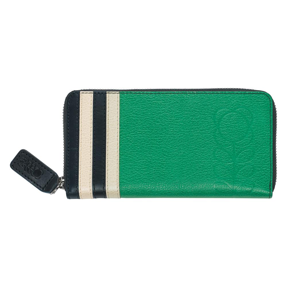 Orla Kiely Jade Embossed Flower Leather Big Zip Wallet   Handbags   Purses    Handbags   Purses   Jarrolds Norwich, Norfolk d58e07db06