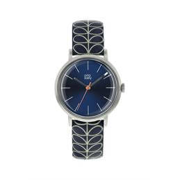Orla Kiely Patricia Navy Stem Watch