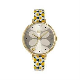 Orla Kiely Ivy Yellow/Navy Watch