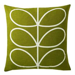 Orla Kiely Large Print Linear Stem Cushion: Choice Of Colours
