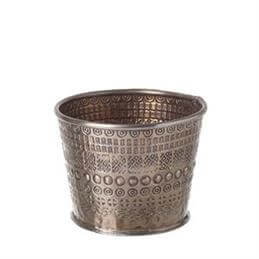 Parlane Rikisha Aluminium Rose Gold Small Planter