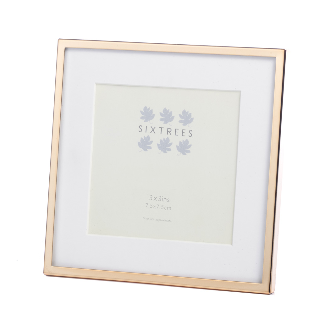 Sixtrees Park Lane Rose Gold Photo Frame Photo Amp Picture