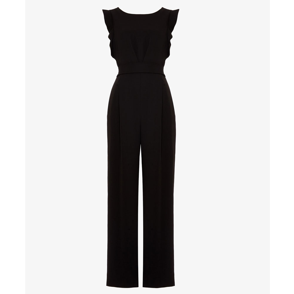 80ebbdc009 Phase Eight Wide Leg Jumpsuit Black