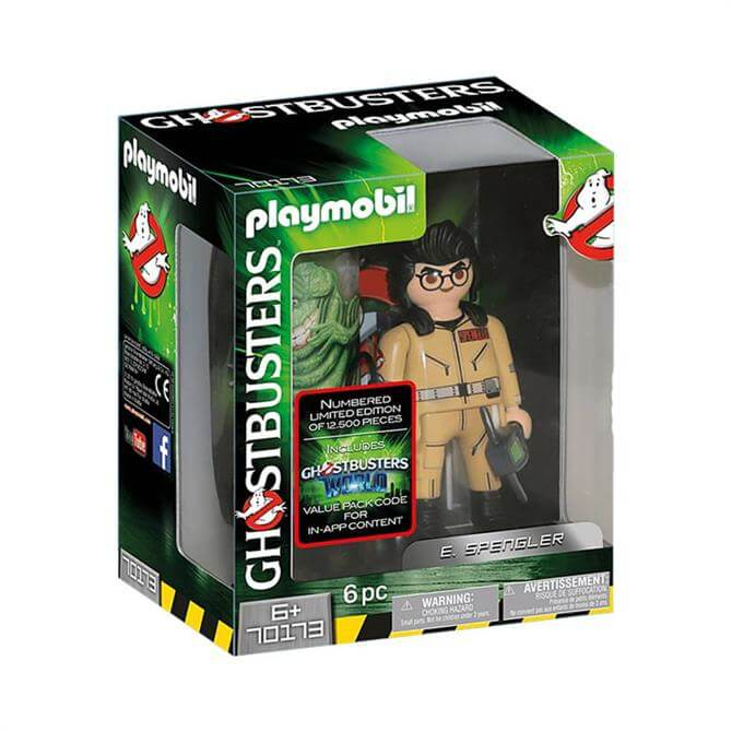 Playmobil Ghostbuster E. Spengler Figure 70173