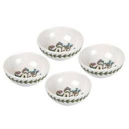 Portmeirion Botanic Garden 9.5cm  Low Bowls: Set Of 4