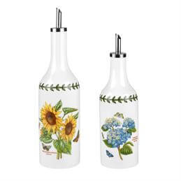 Portmeirion Botanic Garden Oil & Vinegar Drizzler Set