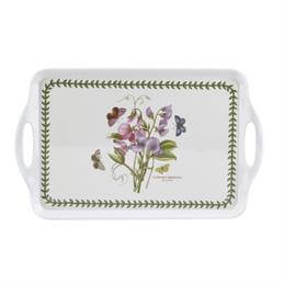 Portmeirion Botanic Garden Handled Serving Tray: Sweet Pea