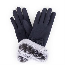 Powder Designs Phillipa Faux Suede Gloves