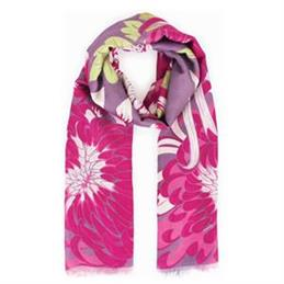 Powder Designs Chrysanthemum Print Scarf