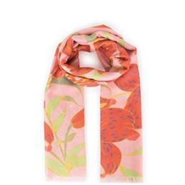 Powder Designs Lily Print Scarf