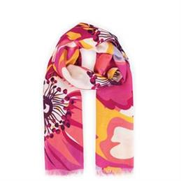 Powder Designs Poppy Print Scarf