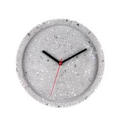 Karlsson Tom Terrazzo Grey Wall Clock