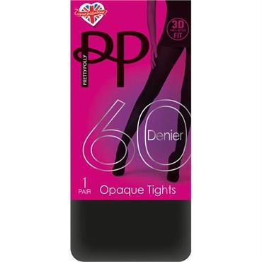 1d12b78cf ... Pretty Polly 60 Denier 3D Opaque Tights