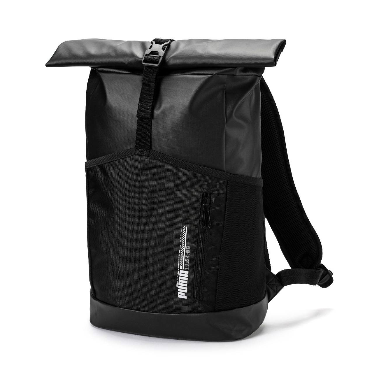 d754213649 Puma Energy Black Rolltop Backpack