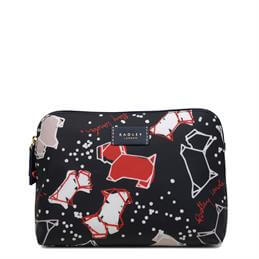 Radley Speckle Dog Medium Zip Top Pouch