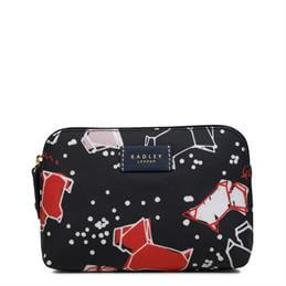 Radley Speckle Dog Small Zip Top Pouch