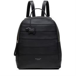Radley Babington Black Medium Zip Top Backpack