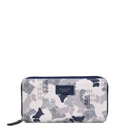 Radley Data Dog Large Zip Around Matinee Purse