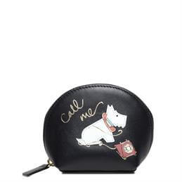 Radley Call Me Black Small Zip Around Coin Purse