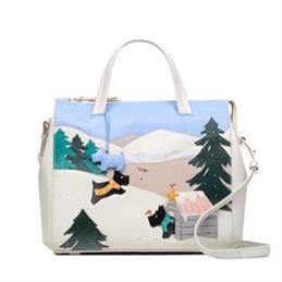 Radley At Home in the Snow Limited Edition Large Zip Top Multiway Bag