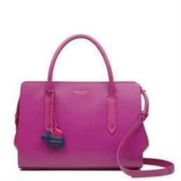 Radley Liverpool Street Fuchsia Pink Medium Zip-Top Multiway Bag