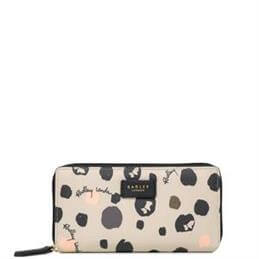 Radley Bubble Dog Large Zip Around Matinee Purse