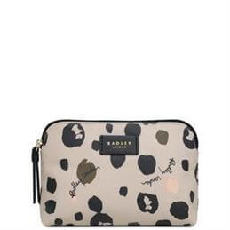 Radley Bubble Dog Medium Zip Top Pouch
