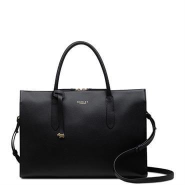 e03555da87 Radley Arlington Court Black Large Multi-Compartment Multiway Bag