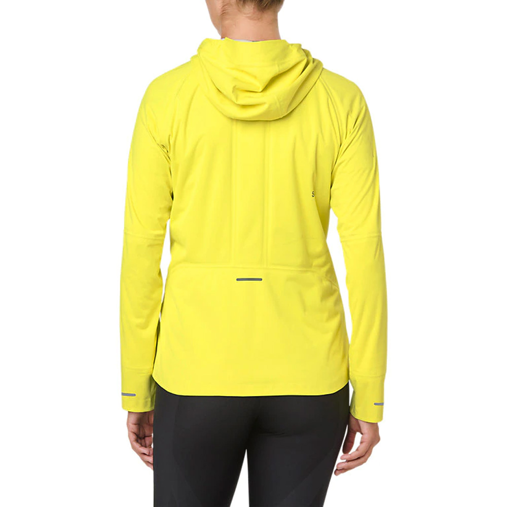 6945165600b Asics Women's Accelerate Running Jacket - Lemon Spark | Womens ...