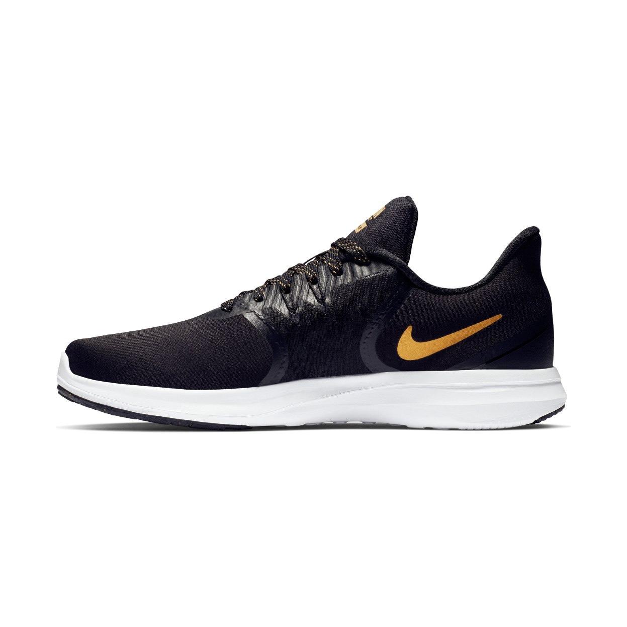 f53c9f5a6417 Nike Women s In-Season TR 8 Print Training Shoes - Black Gold ...