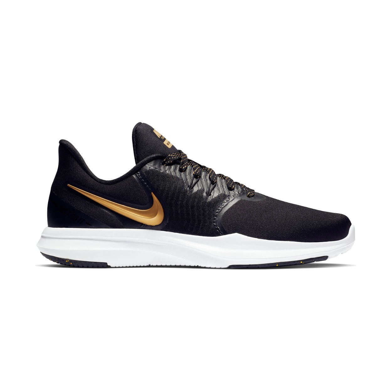 98e1537b7636 Nike Women s In-Season TR 8 Print Training Shoes - Black Gold ...