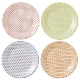 Royal Doulton Pastels Accents 23cm Plate (Set of 4)