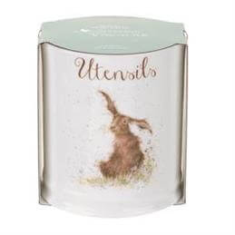 Royal Worcester Wrendale Hare Utensil Jar