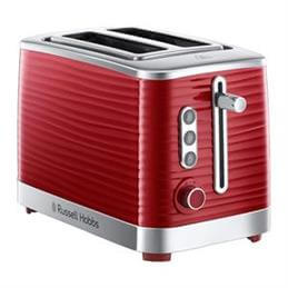 Russell Hobbs Inspire 2 Slice Toaster: Red
