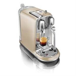 Nespresso Creatista Coffee Machine By Sage: Champagne