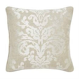 Sanderson Riverside Damask Embroidered Cushion