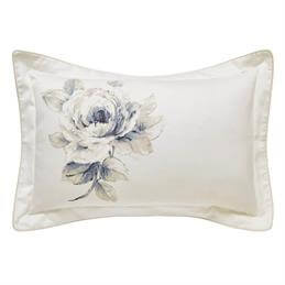 Sanderson Rosa Oxford Pillowcase: Indigo
