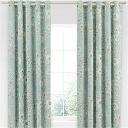 Sanderson Home Maelee Seaflower Lined Curtains