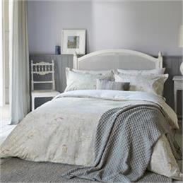 Sanderson Chiswick Grove Silver Duvet Cover