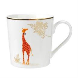 Sara Miller For Portmeirion Piccadilly Collection Mug: Genteel Giraffe