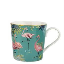 Sara Miller London The Flamingo Tahiti Mug