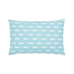 Scion Mr Fox Teal Pair of Housewife Pillowcases