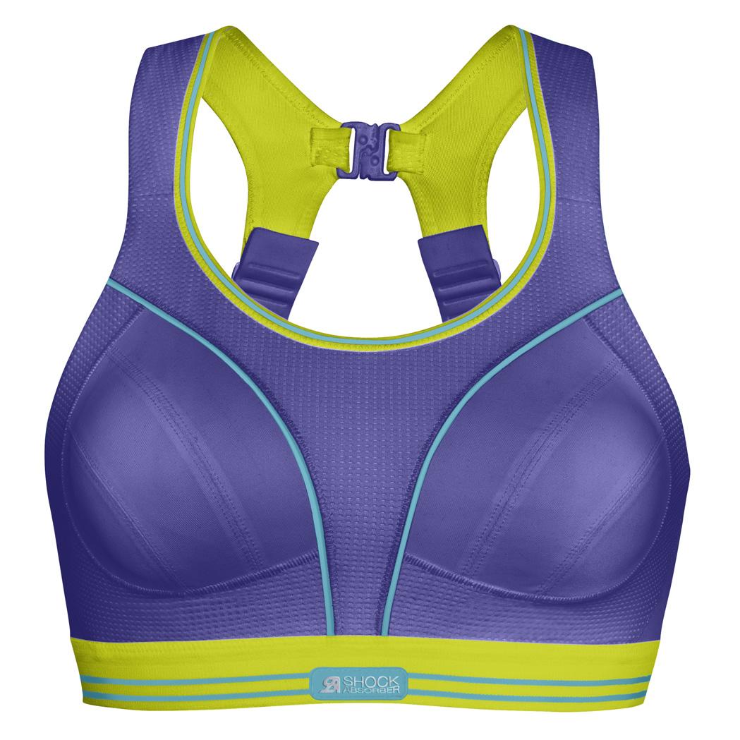 4440503ea Shock Absorber Women s Ultimate Run Bra- Waterfall Purple