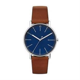 Skagen Signatur Brown Leather Watch