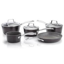Stellar Rocktanium Non-Stick Pan Set: 5 Piece