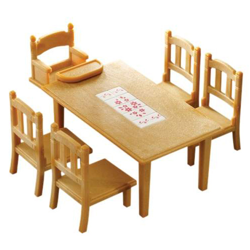 Sylvanian Families Family Tables And Chairs Jarrold Norwich : sylv family table and chairs 1 from www.jarrold.co.uk size 500 x 500 jpeg 60kB